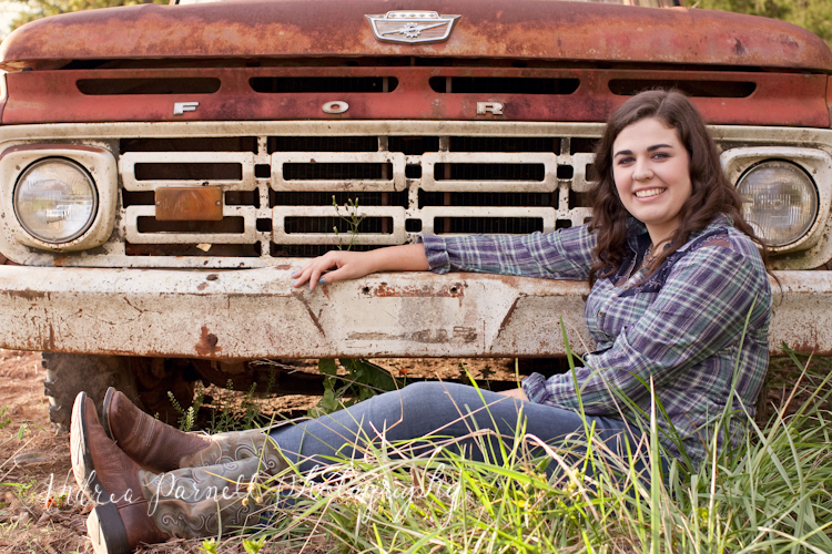 Rebecca's Senior Session in Norfork, Arkansas