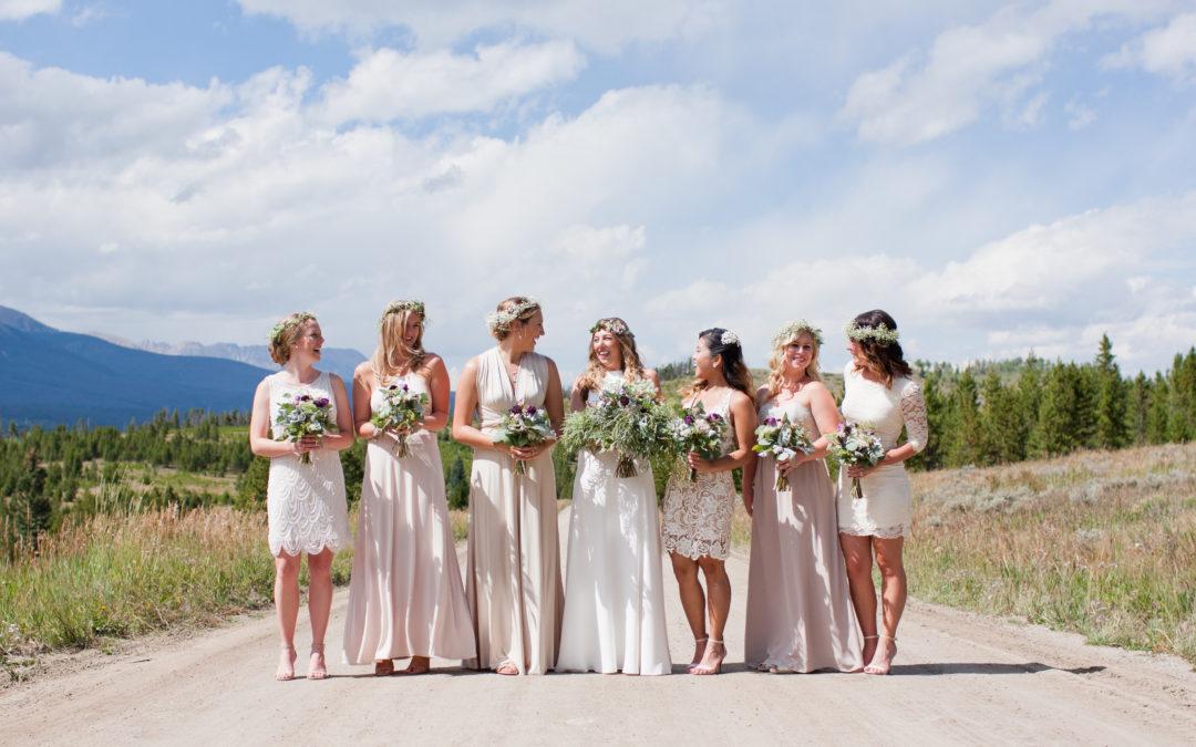 Emma and Brian Silverthorne, Colorado Wedding