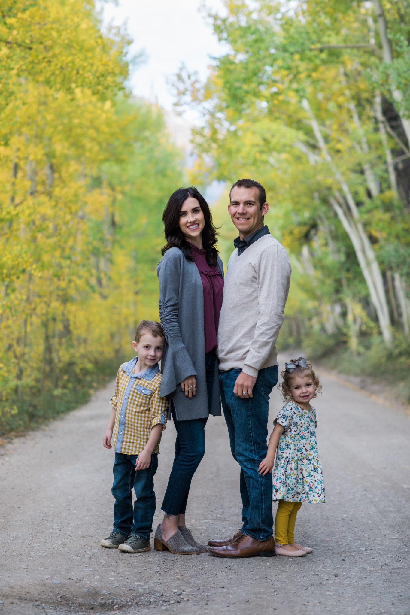 Boreas Pass Breckenridge Fall Family Photography Session
