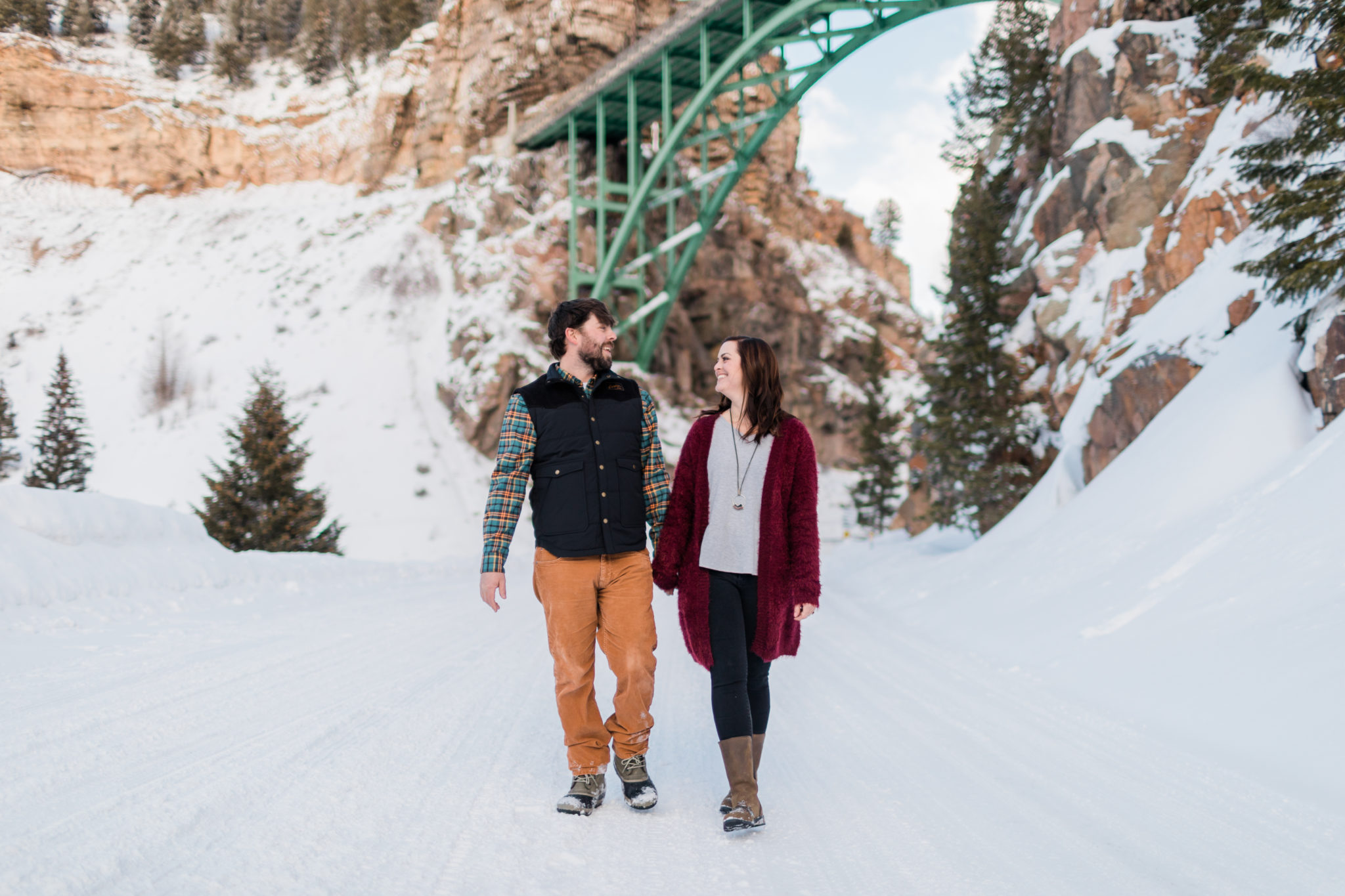 Red Cliff Camp Hale Colorado Engagement Session