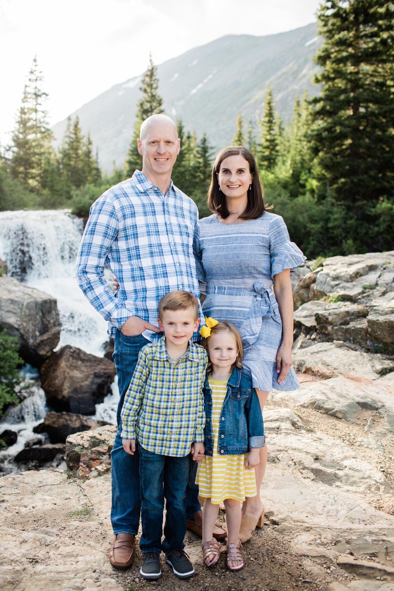 Cibulsky Family Blue Lakes, CO