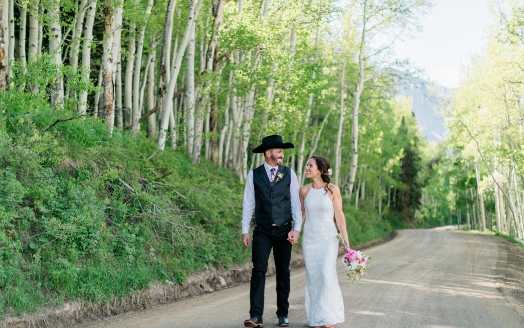 Crested Butte Mountain Wedding Garden