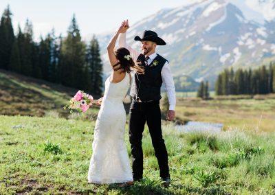 Summer Mountain Wedding