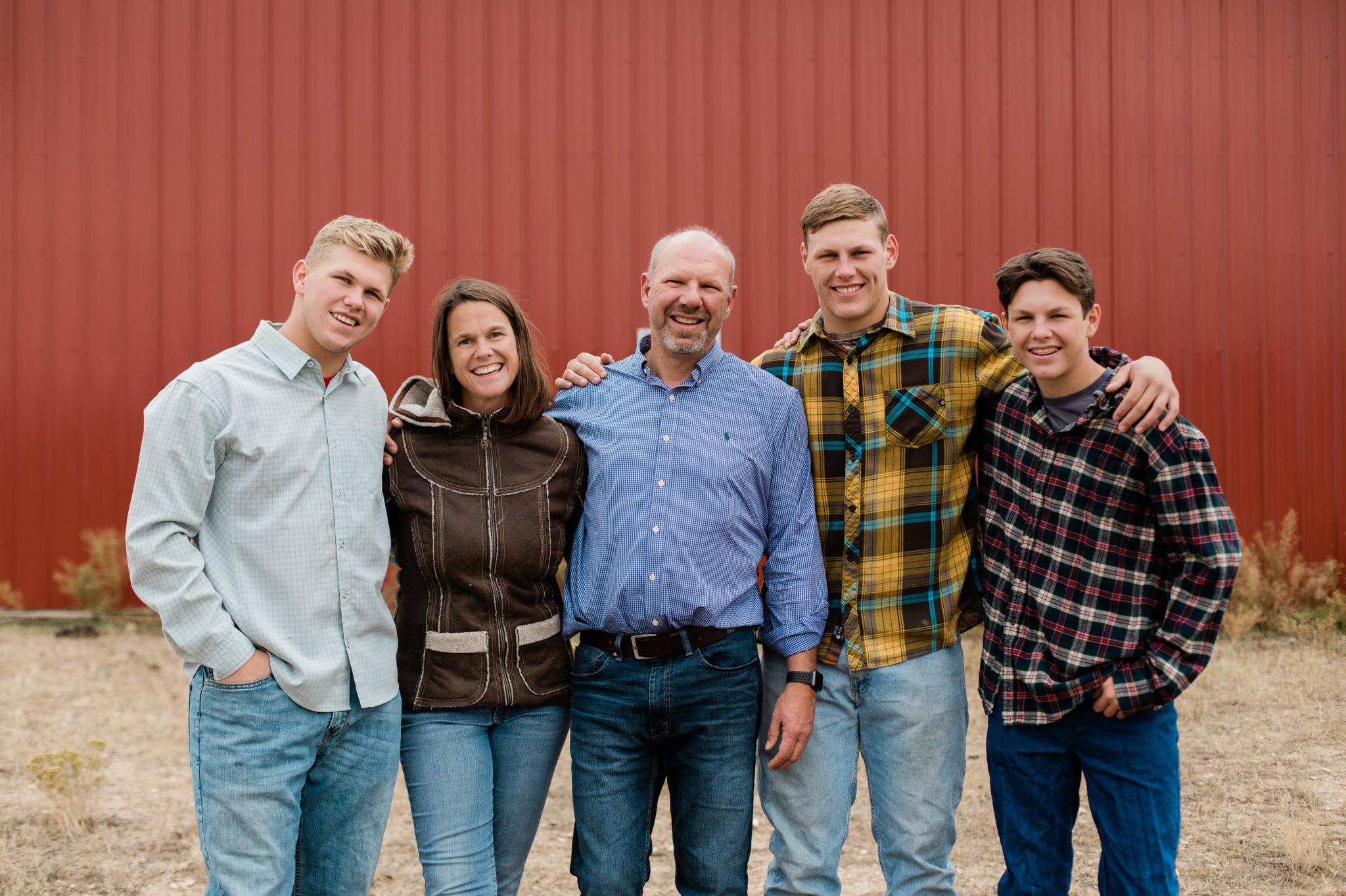 fall family farm photography session longmont colorado