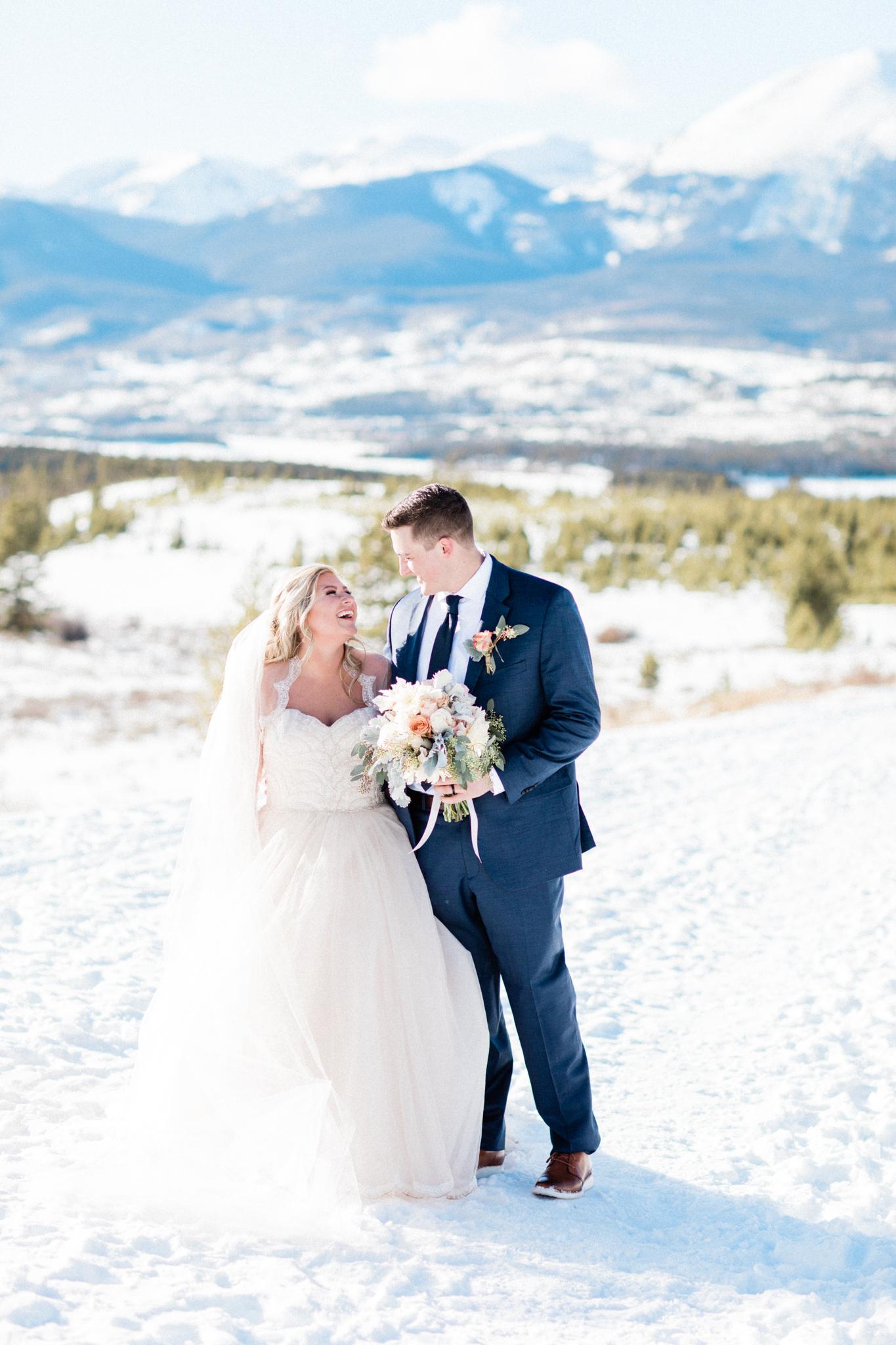 Brooke and Mitch Sapphire Point, Breckenridge