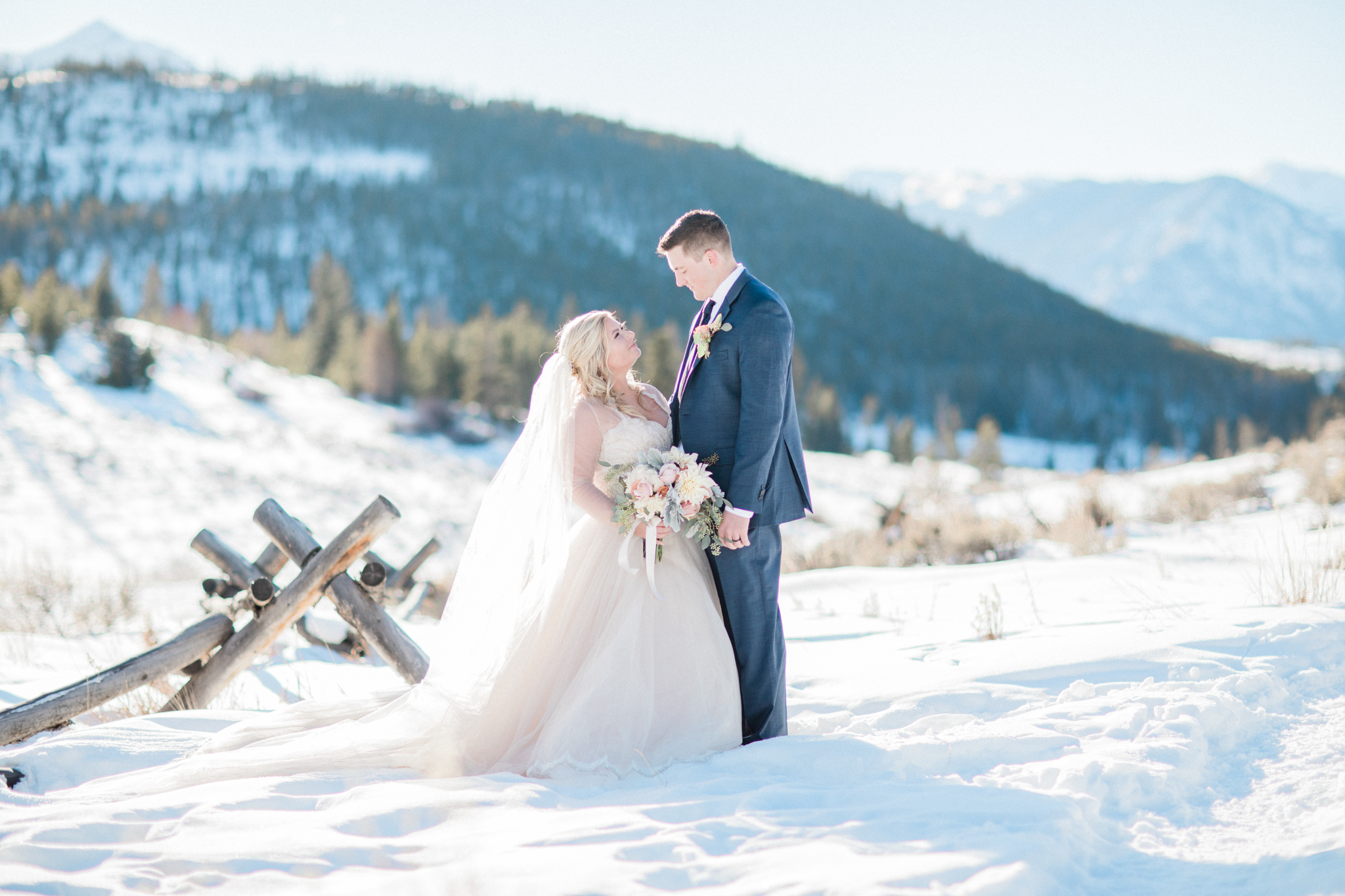 Sapphire Point Winter Wedding Colorado