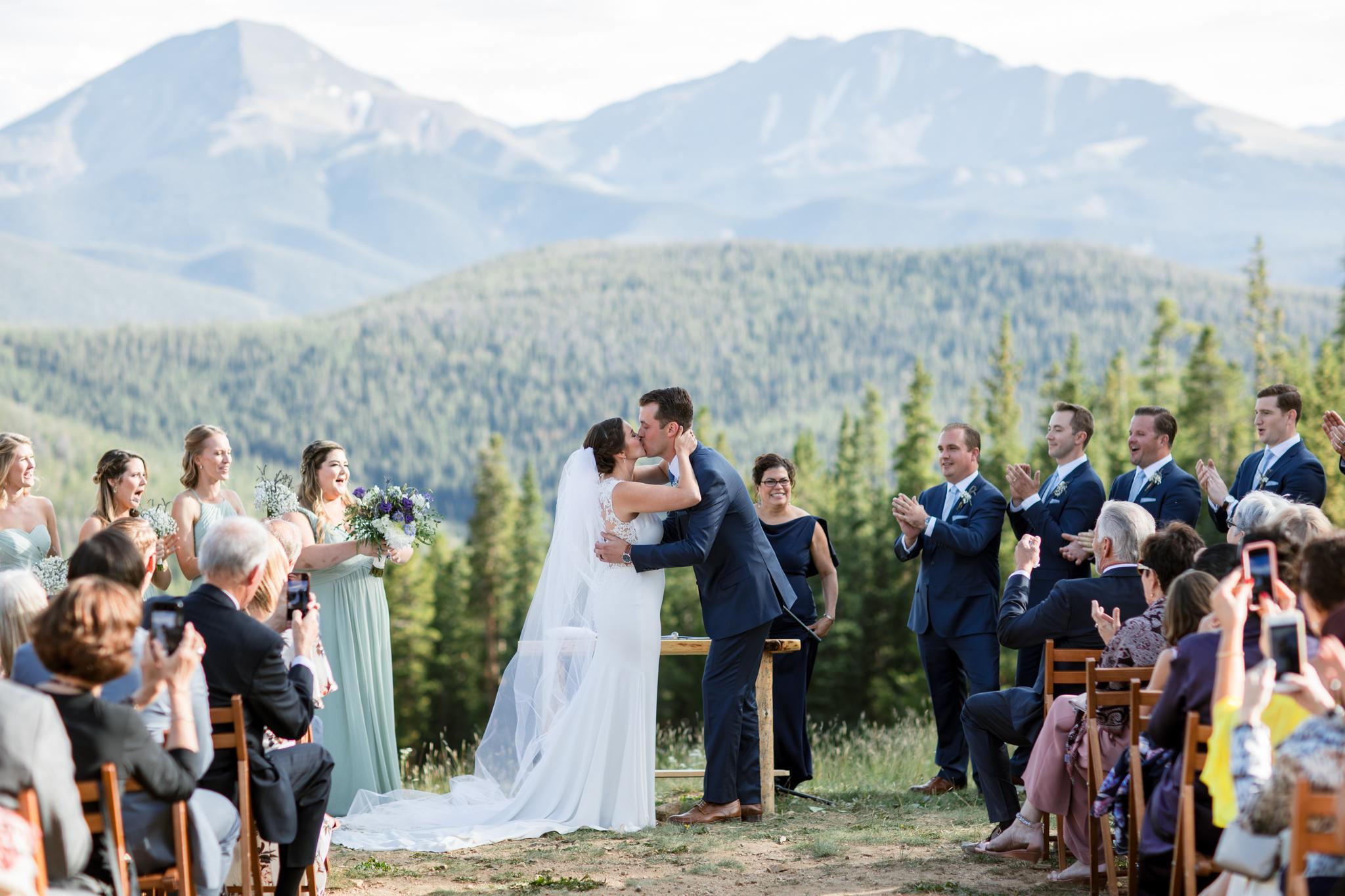 Timber Ridge Lodge Keystone Colorado Summer Wedding