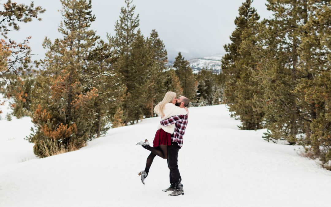 The 5 Best Proposal and Engagement Photo Locations around Breckenridge
