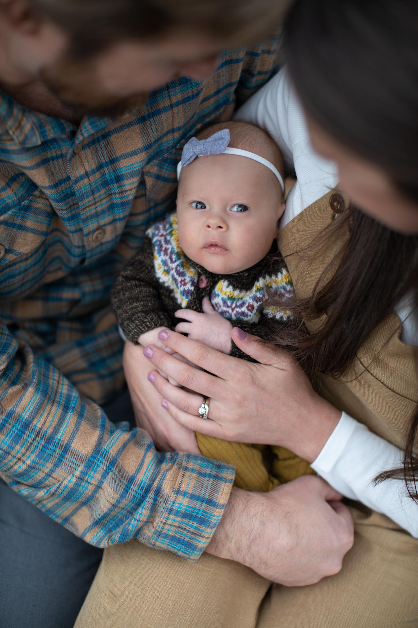 Ella May Lifestyle Newborn Session Breckenridge Colorado