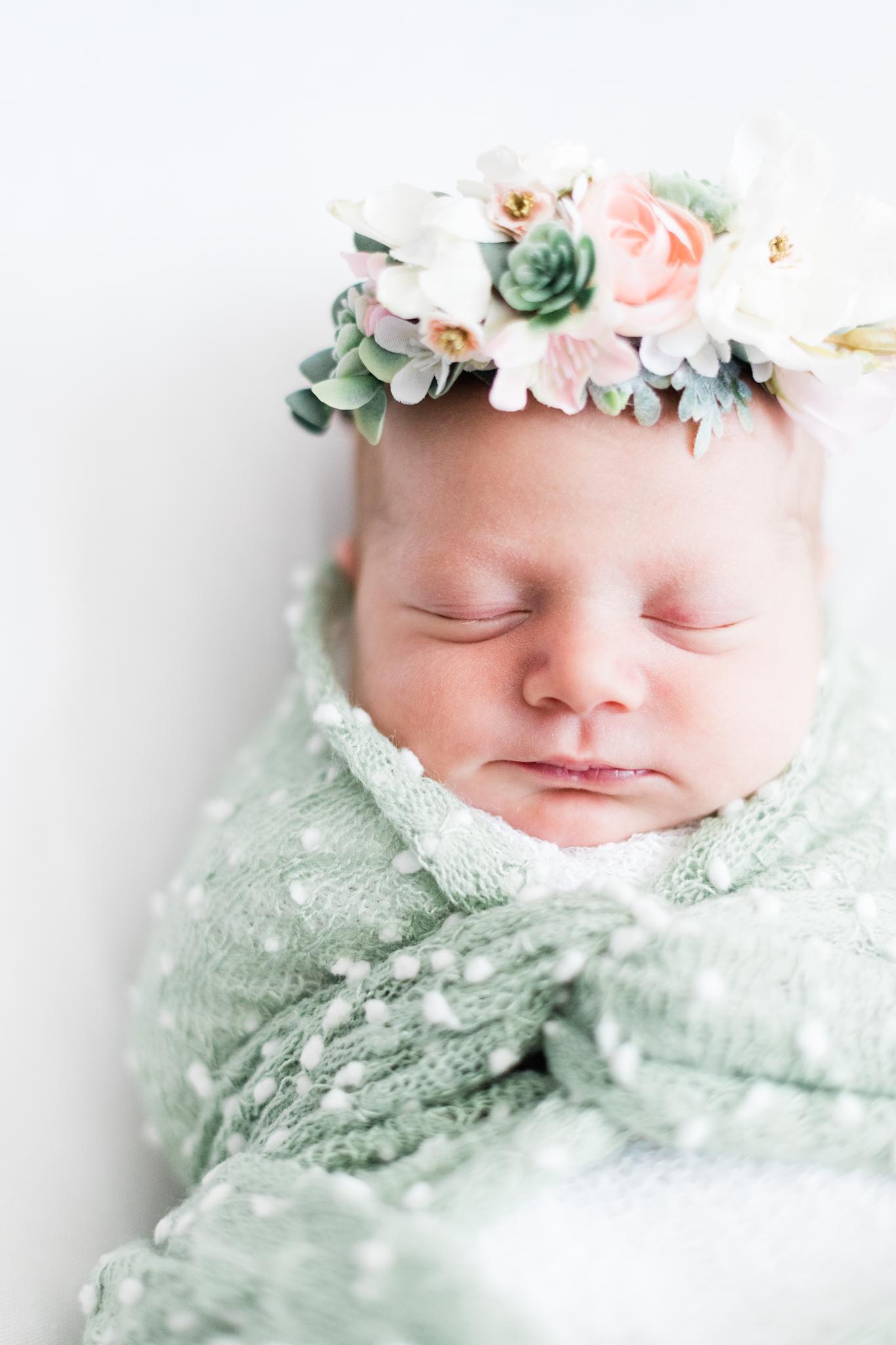 Keystone Lifestyle in Home Newborn Photo