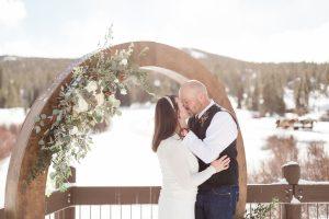 Breckenridge Golf Club Winter Wedding
