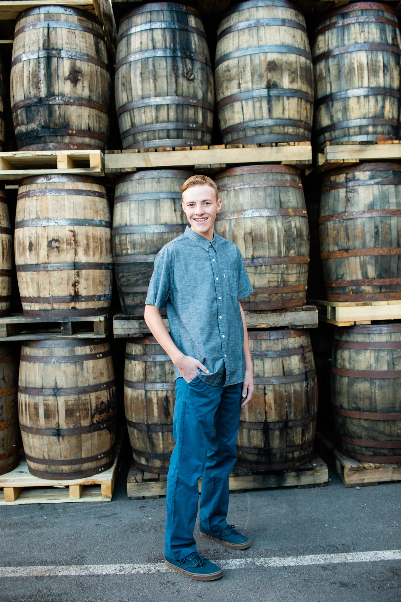 Brennan Breckenridge Senior Photography