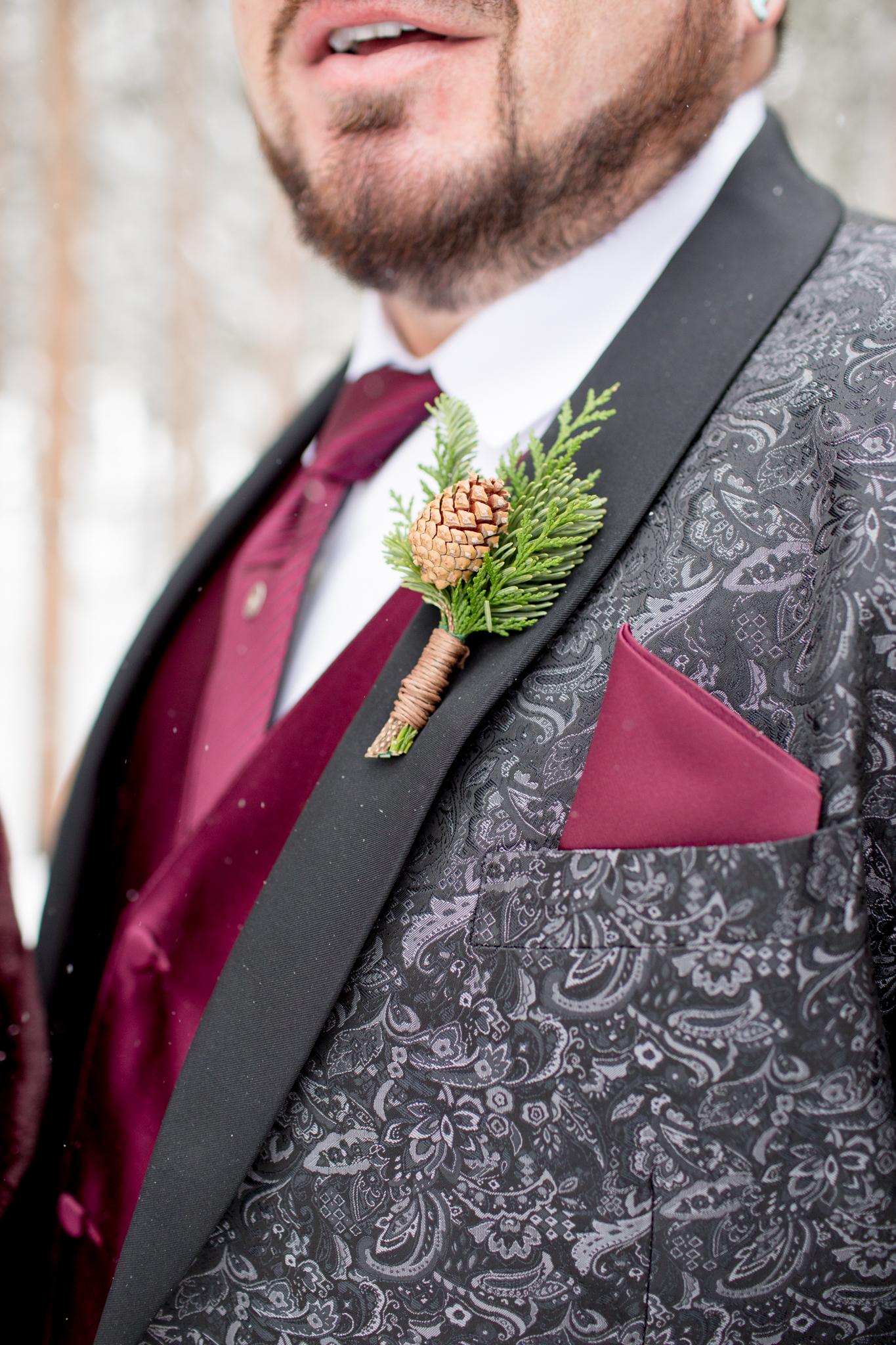 Lodge at Breckenridge Winter Wedding Details