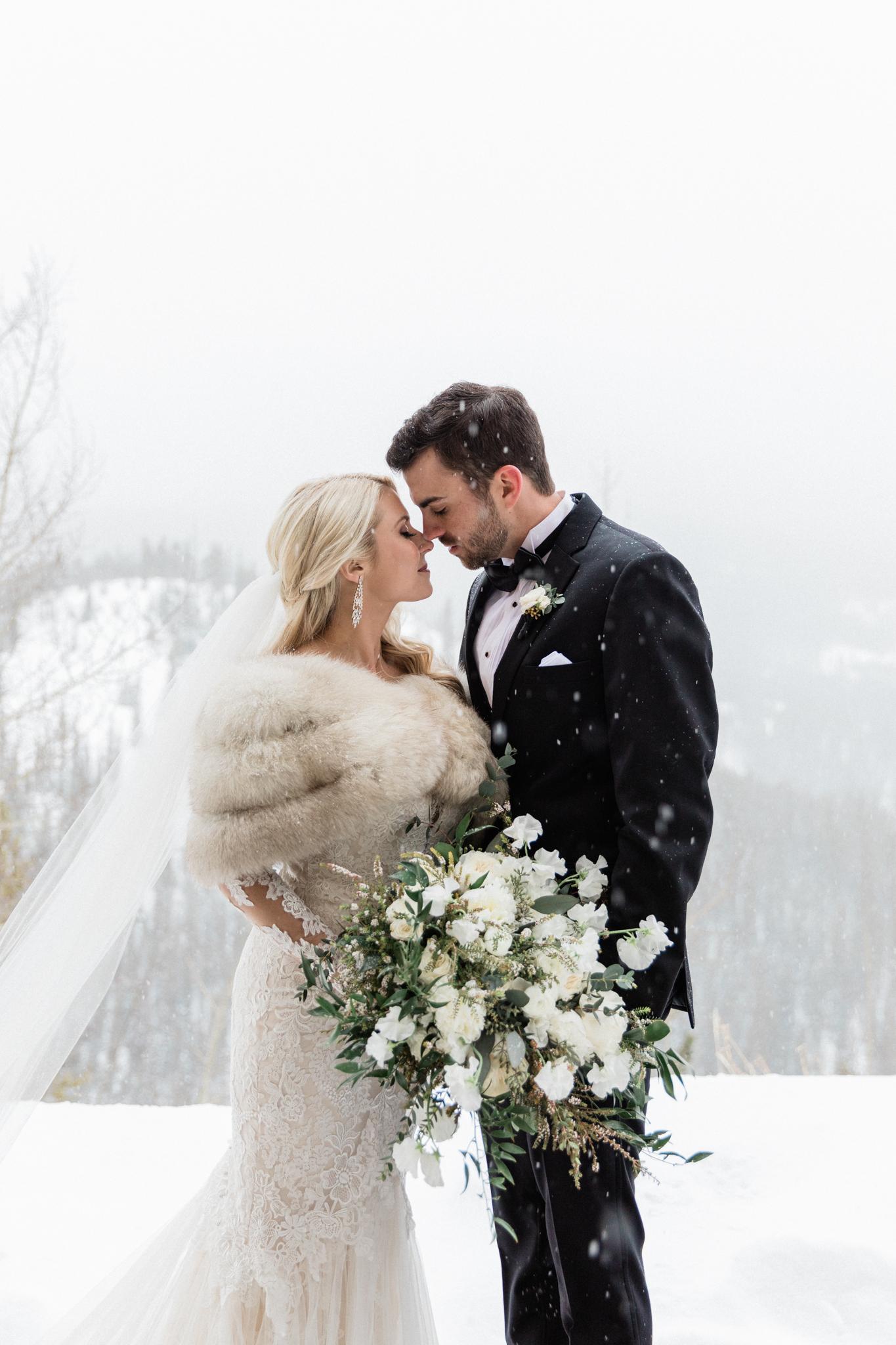 The Lodge at Breckenridge Winter Wedding