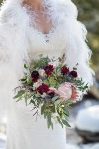 Marla and Allen Sapphire Point Winter Wedding
