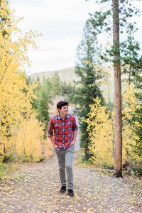 Sam Haynes Senior Photography Breckenridge Colorado