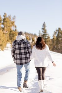 Bella Connor Engagement Photo Session Breckenridge CO