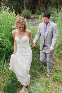 Rachel Brad Private Home Wedding Keystone CO