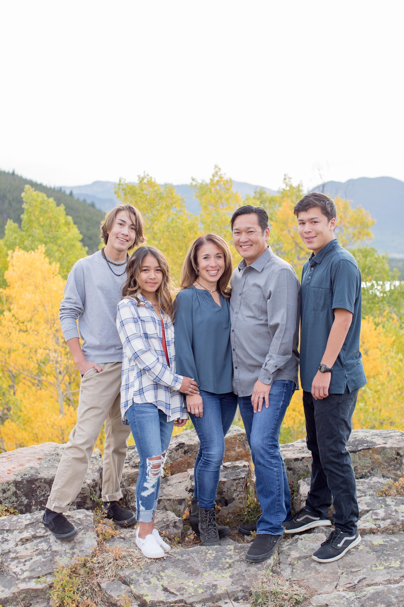 Dalrymple Family Breckenridge, Colorado