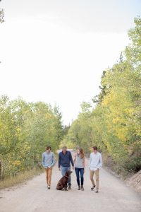 Thebeau Family Portrait Session Breckenridge