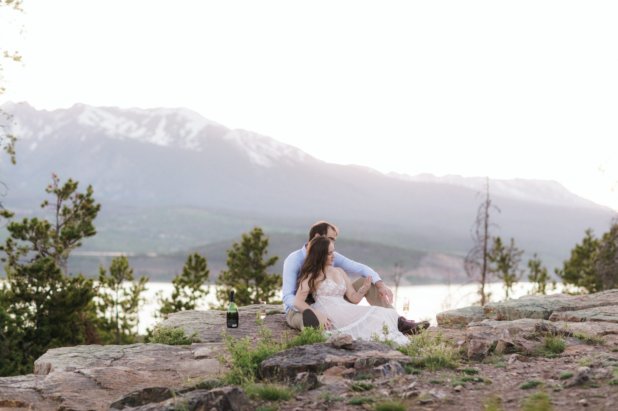 Sunset proposal in Summit County Colorado