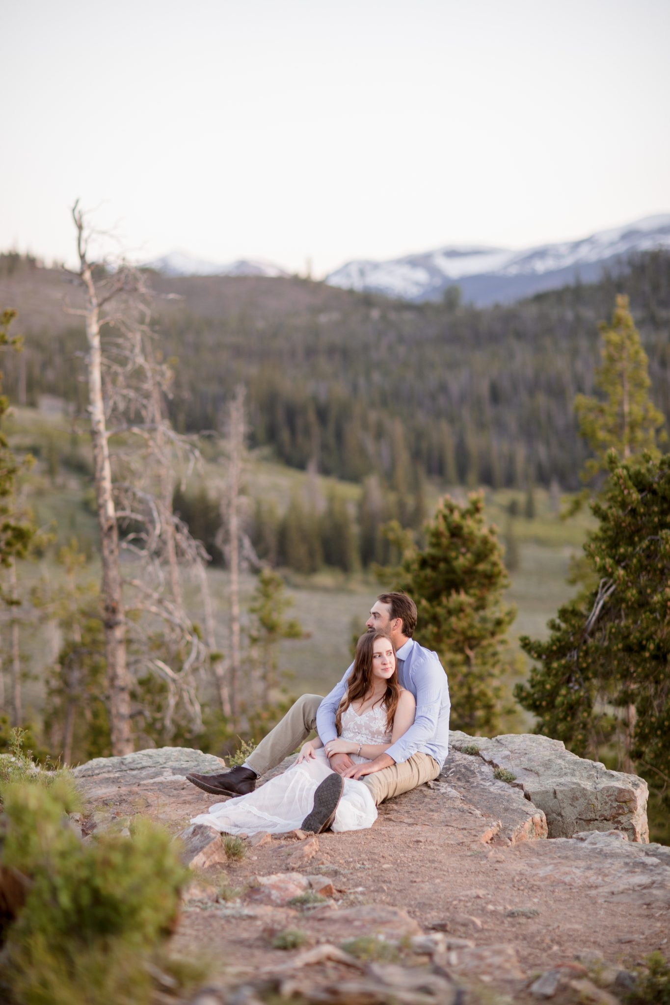 Mountain top proposal in Keystone Colorado