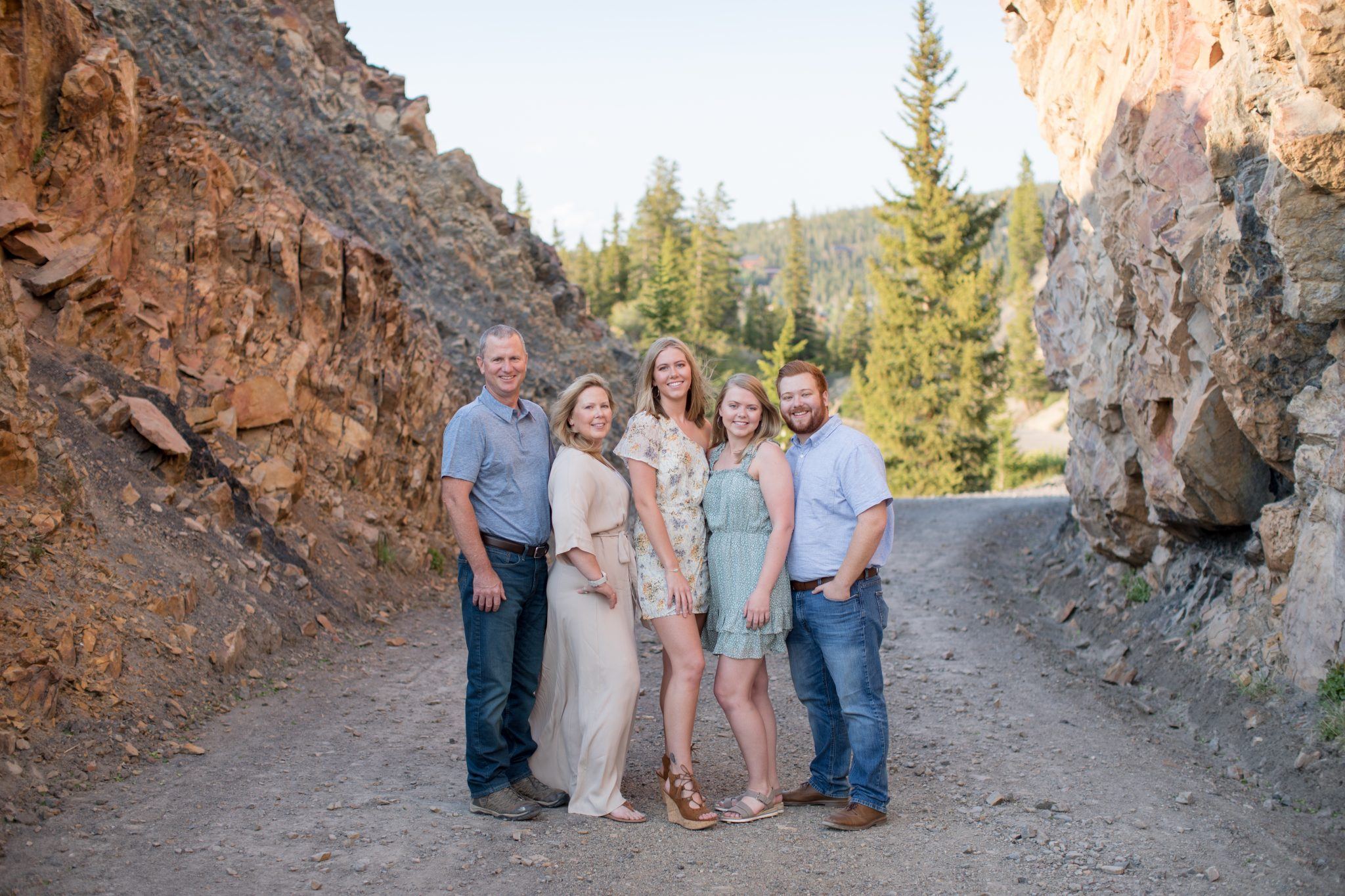Family portrait photographer in Breckenridge Colorado
