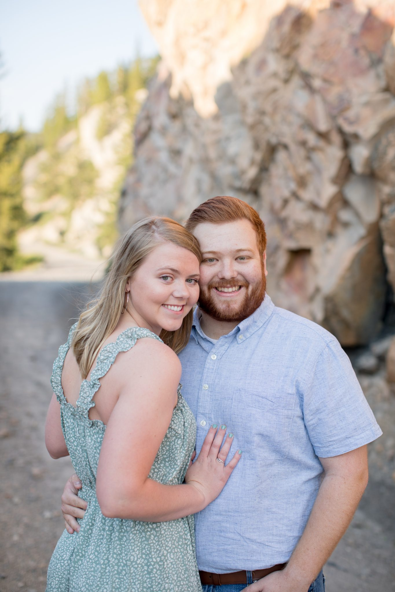Engagement Photographer in Breckenridge Colorado
