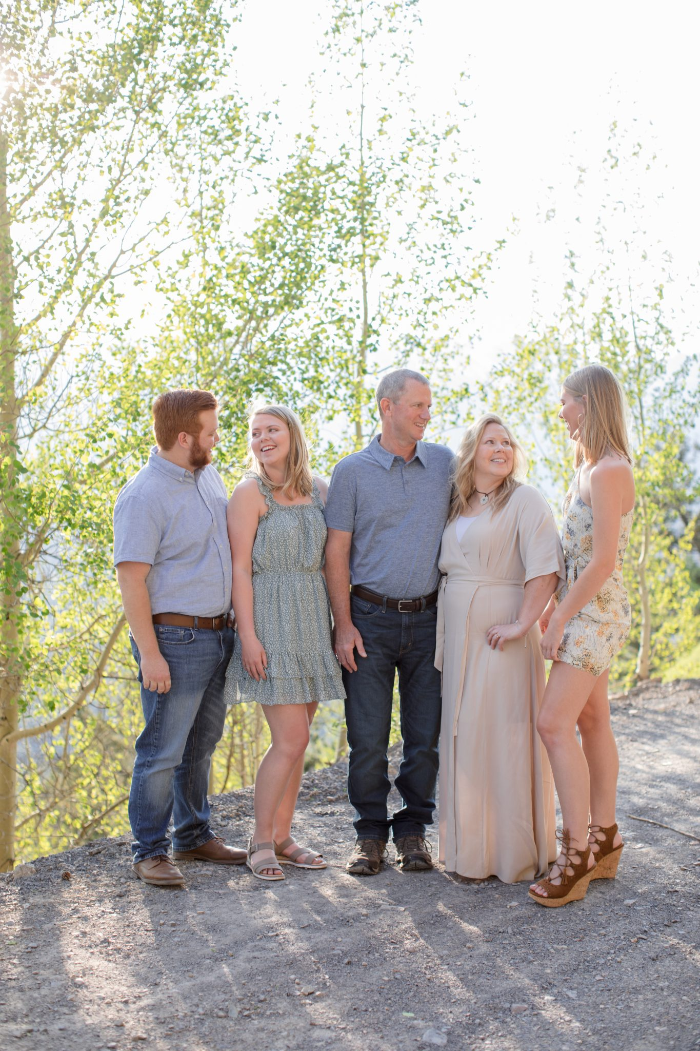 Summer family portrait session in Breckenridge