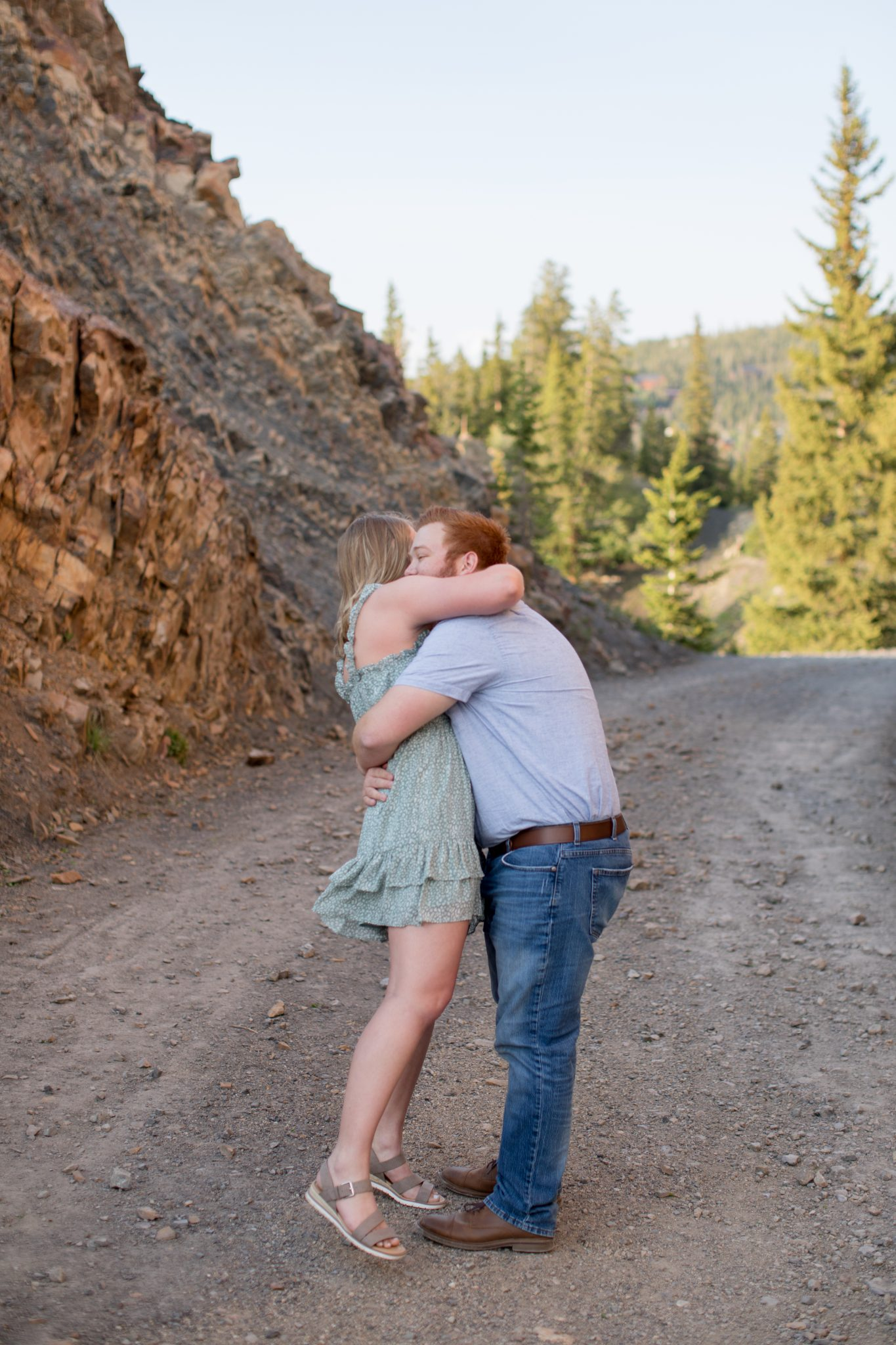 Andrea Stark Photography captures a surprise proposal in Breckenridge Colorado