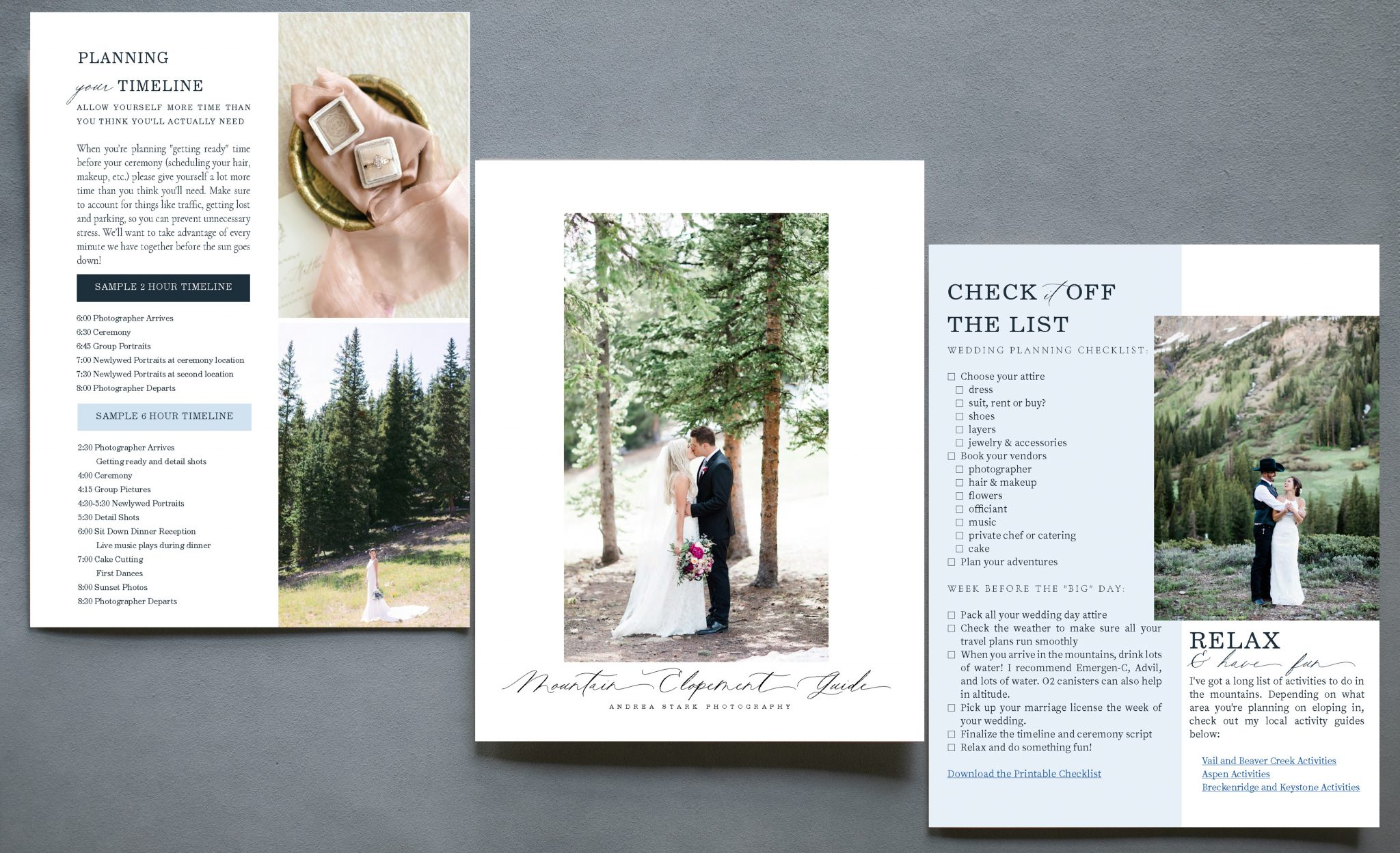 mountain elopement guide pdf image