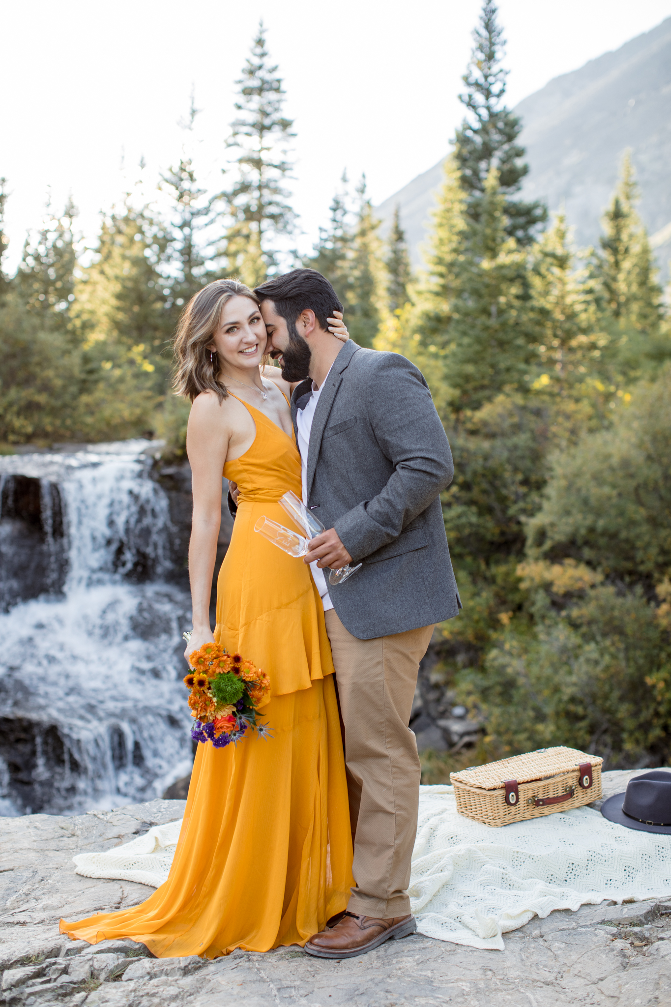 Outdoor Proposal Colorado Mountains