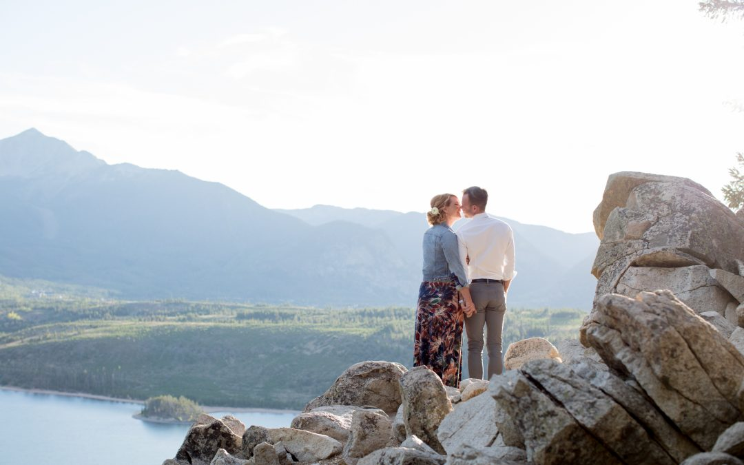 Newlywed Session, Sapphire Point and Windy Point Breckenridge, Colorado