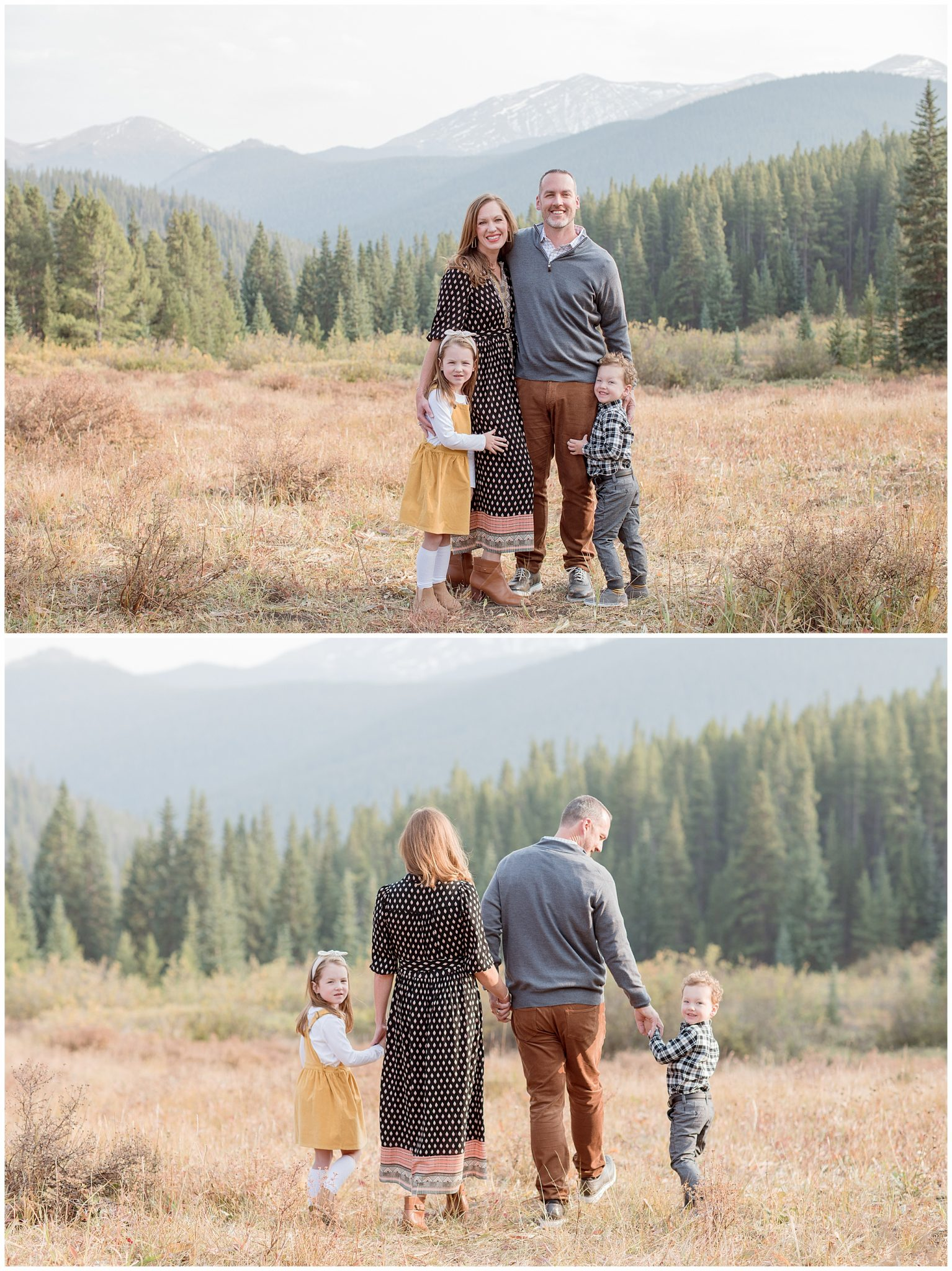 What to wear to my fall family session in Breckenridge Colorado