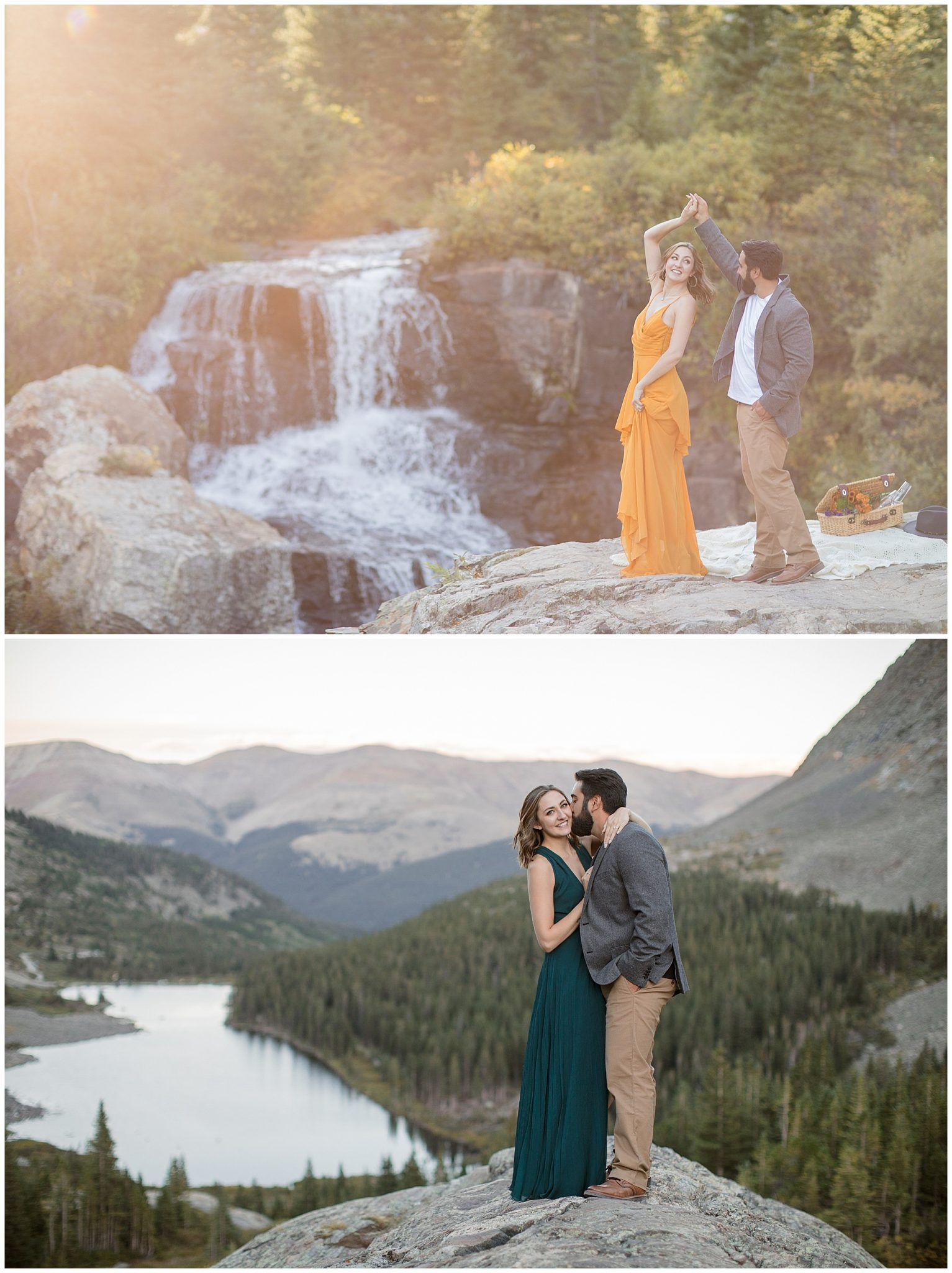 What to wear to an engagement session in Breckenridge