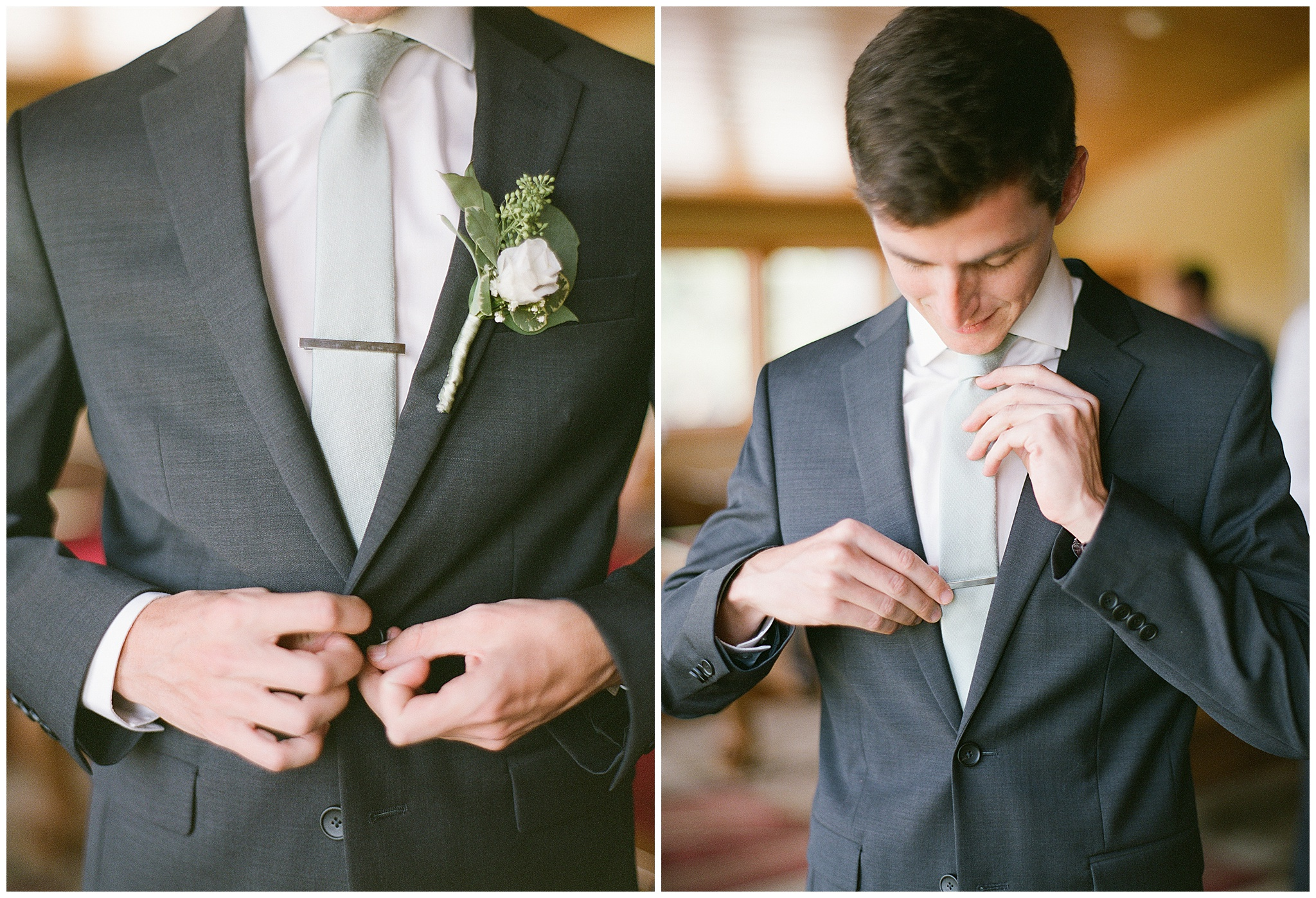 groom details getting ready diy flowers