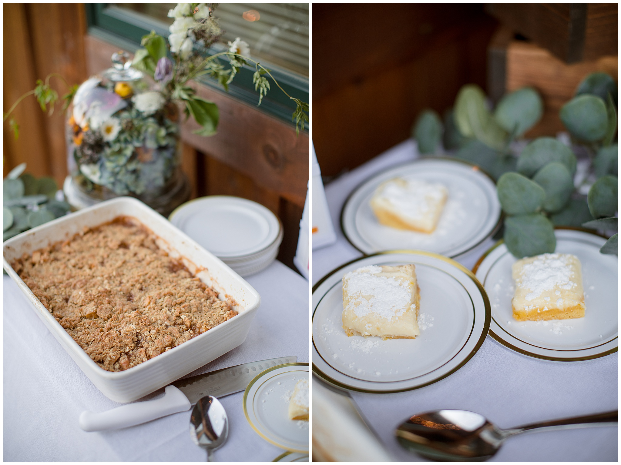 New ways to have a dessert table at your small wedding in Breckenridge