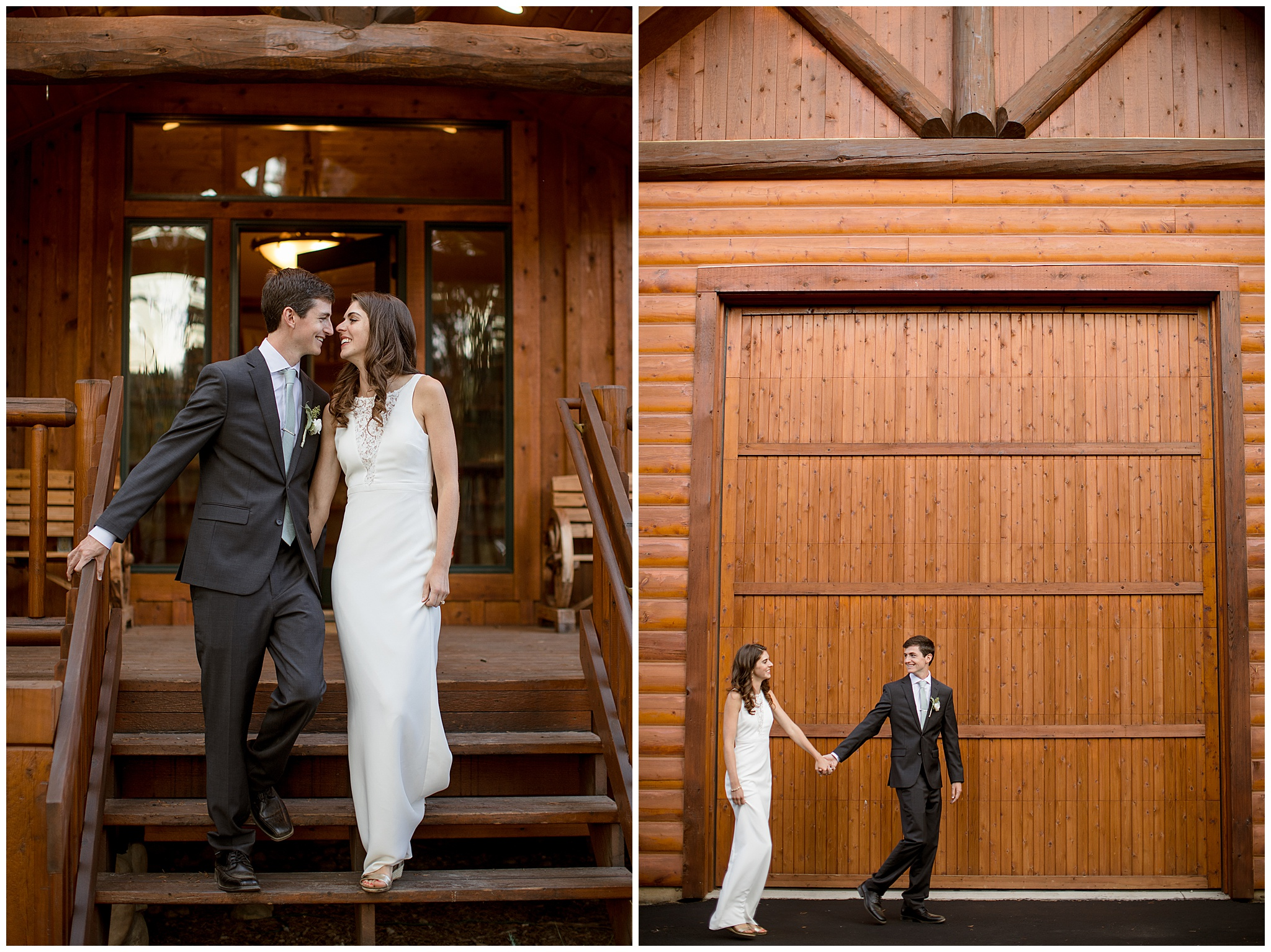 This was their gorgeous cabin in Breckenridge Colorado where they had their micro small wedding