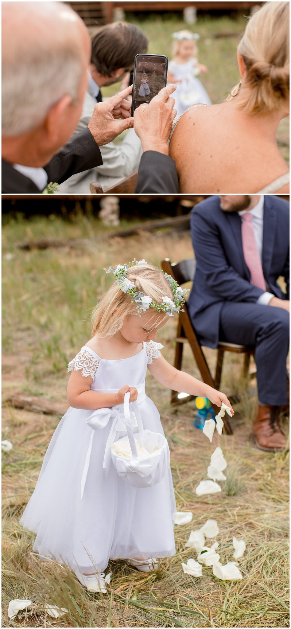 Colorado flower girl