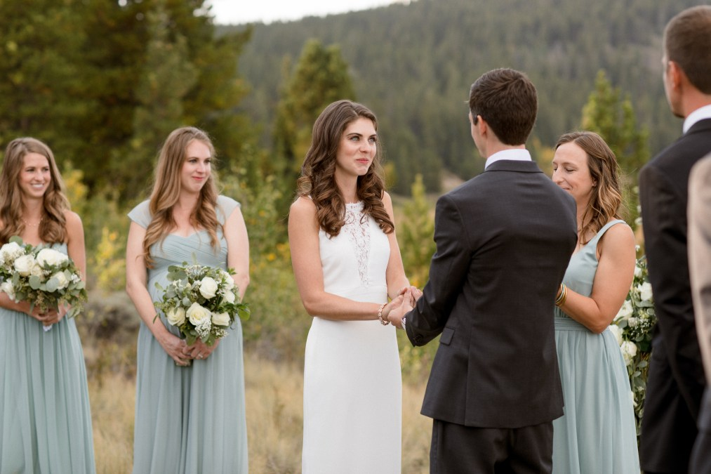 Molly and Jake Micro Wedding at a Private Home Rental in Breckenridge, Colorado