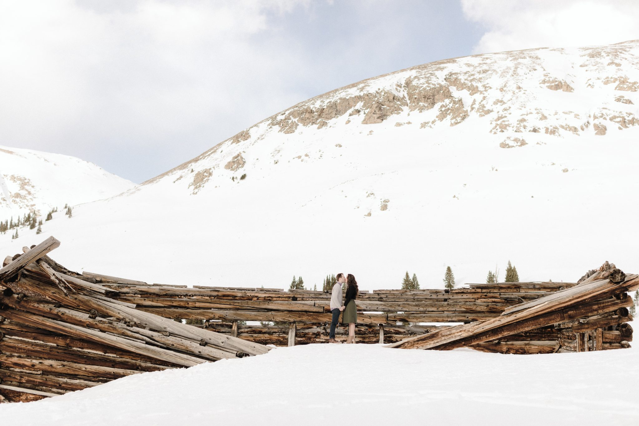 colorado engagement photographer mayflower gulch in winter 4
