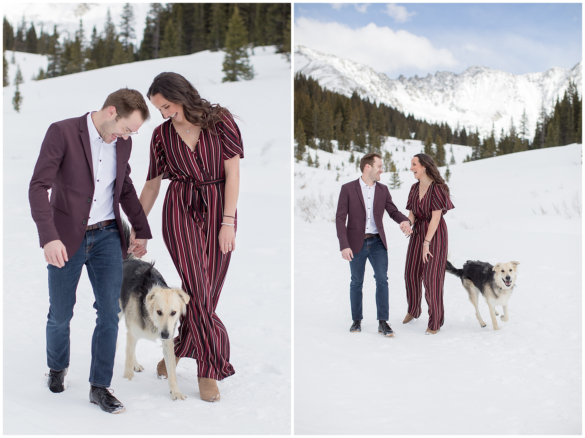 colorado engagement photographer mayflower gulch in winter 3