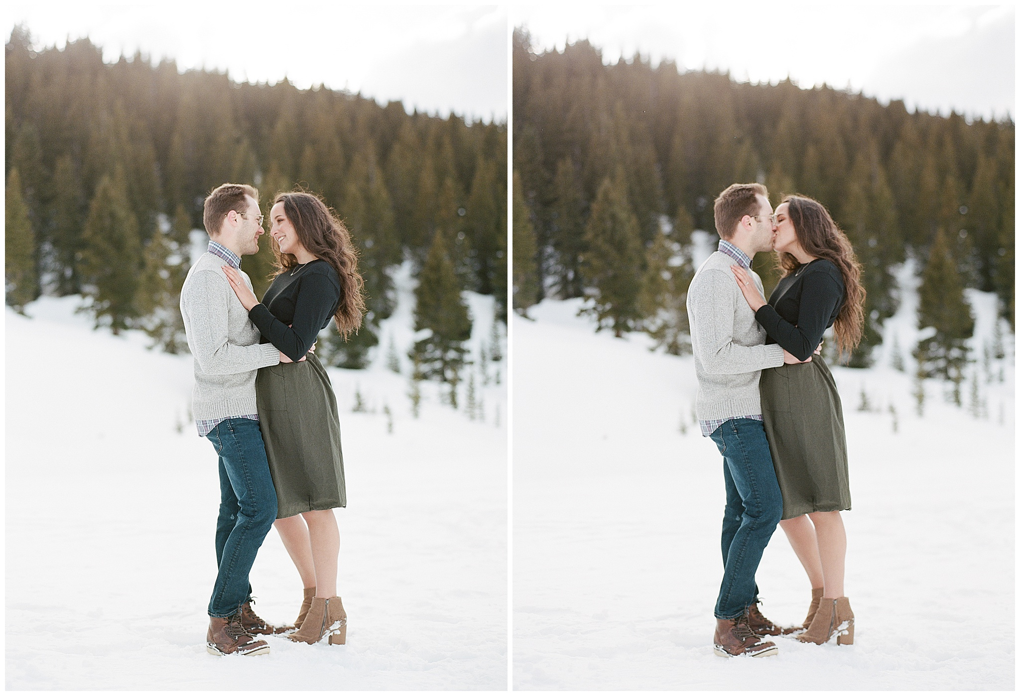 colorado engagement photographer mayflower gulch in winter 12