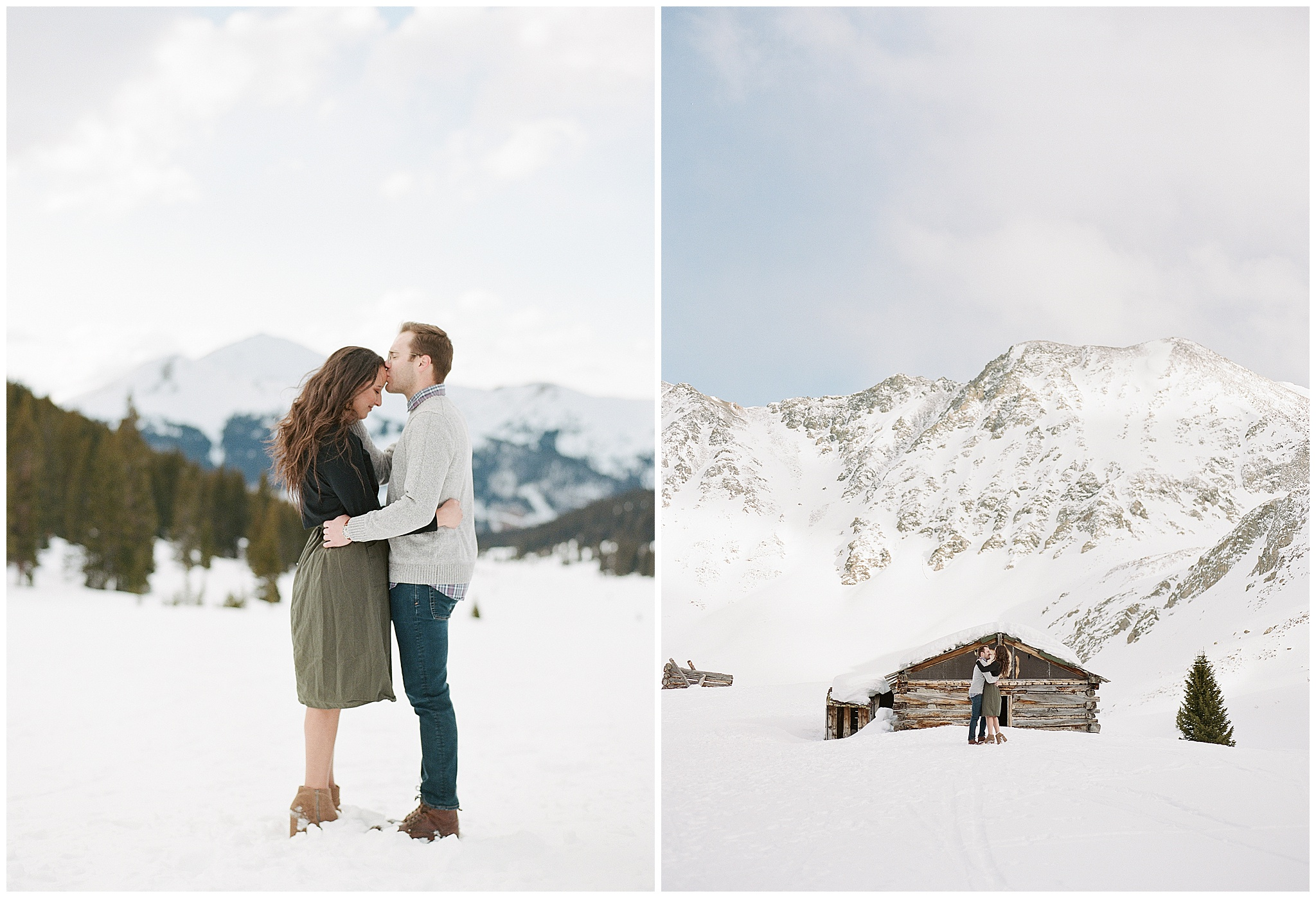colorado engagement photographer mayflower gulch in winter 7