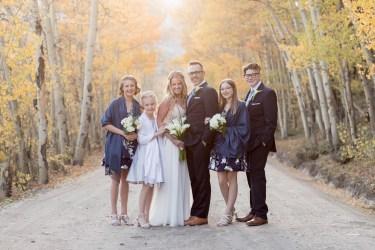 Kelli and Tom Lodge at Breckenridge Wedding