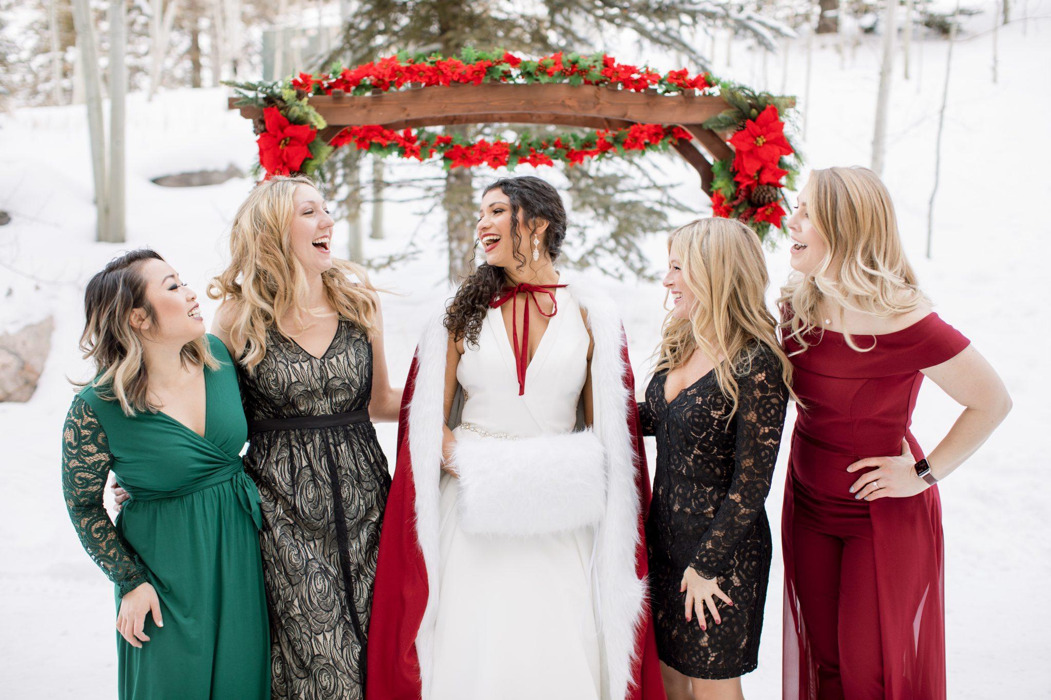 Wedding Party at Beaver Creek Resort