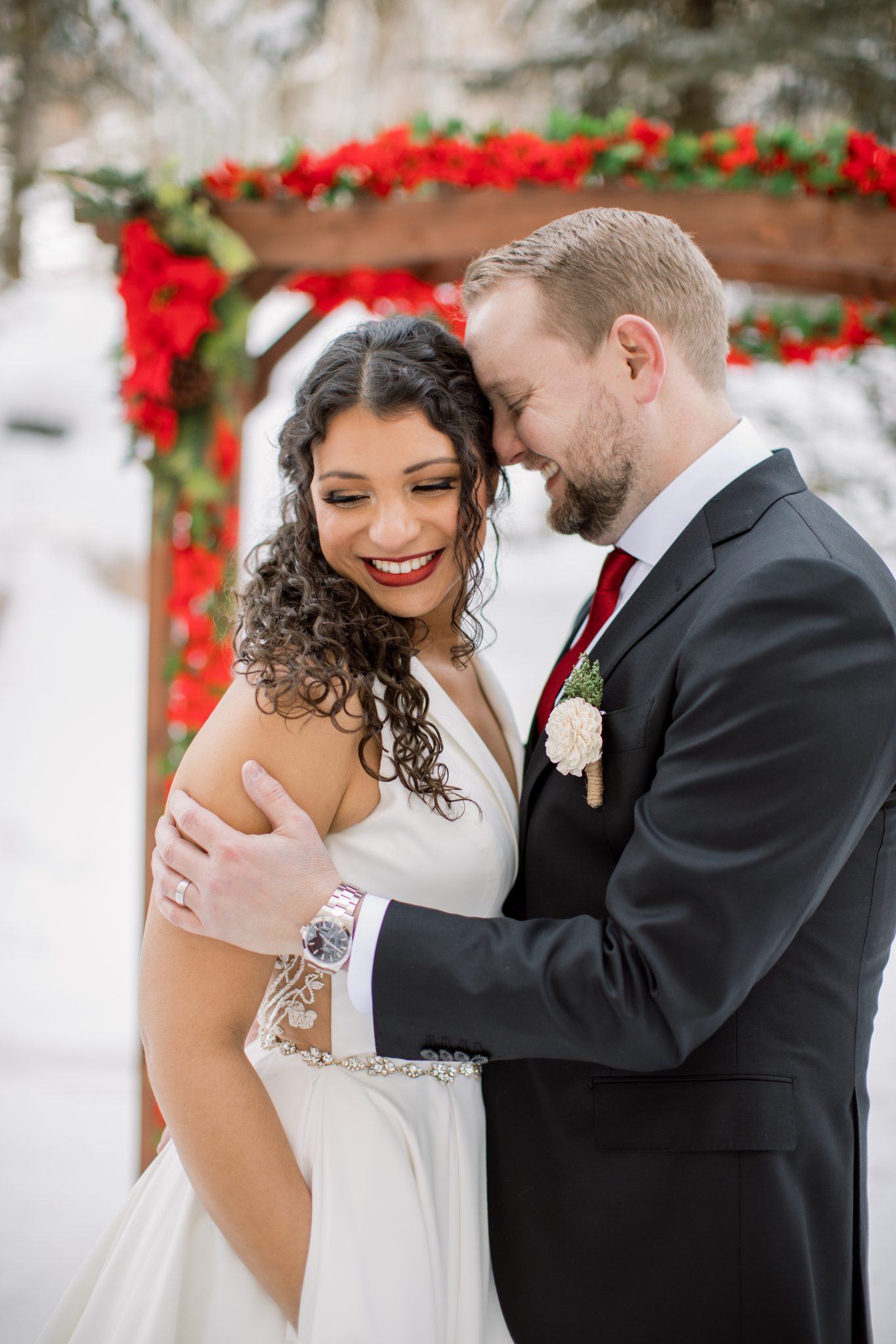 Meghan and Tom Winter Wedding