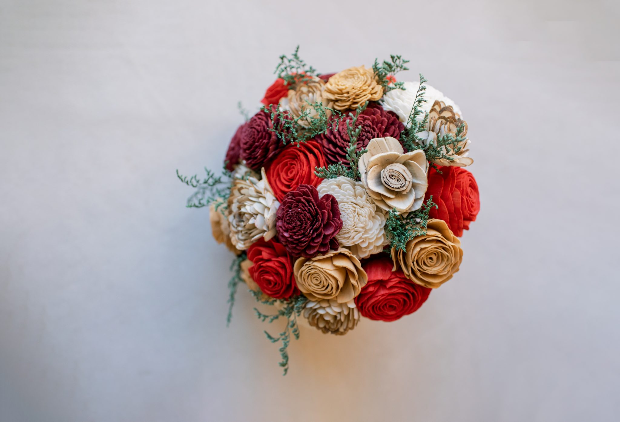 Southern Blooms Company Etsy Wooden Floral Bouquet