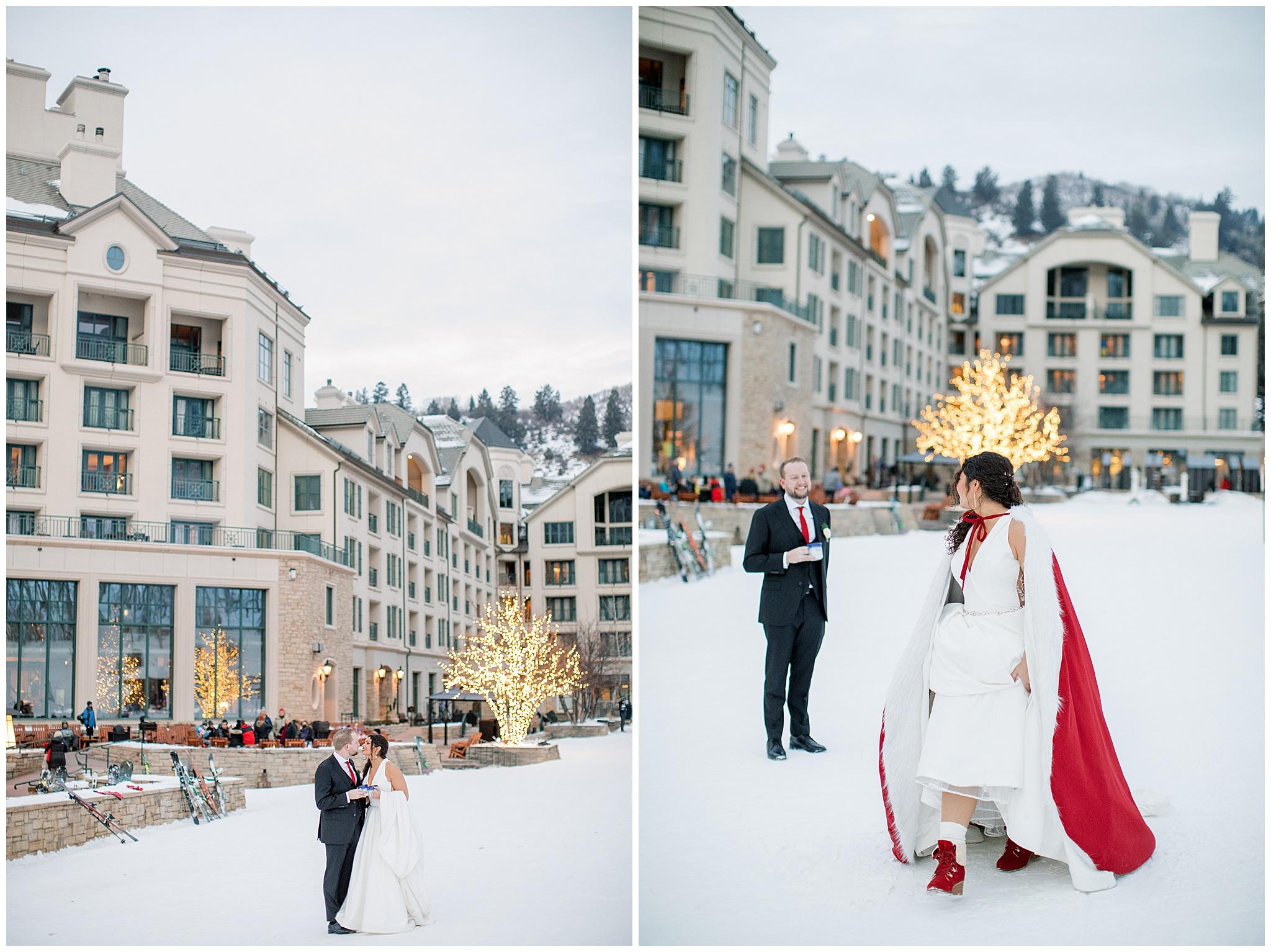 Mountainside Wedding at the Park Hyatt Beaver Creek
