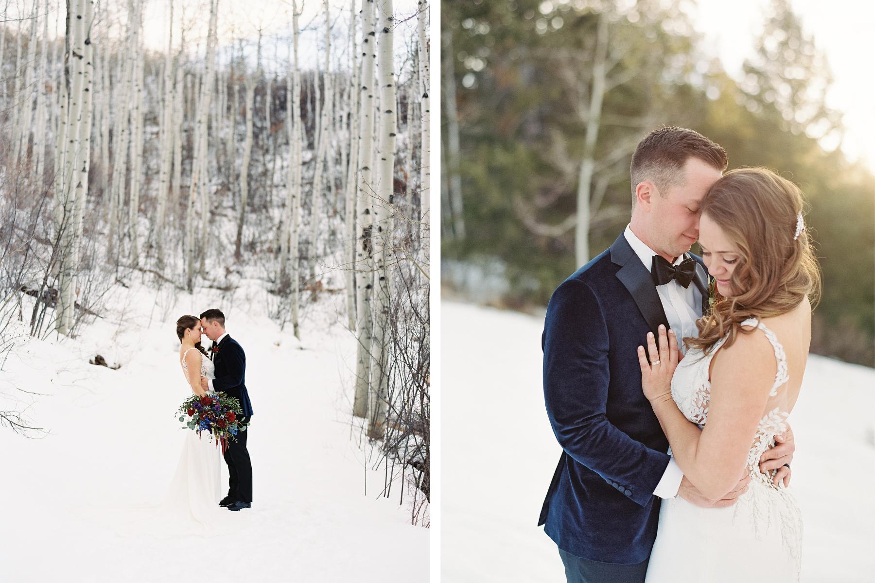 Vail Wedding Photographer Winter Wedding